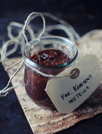 Opskrift: Hjemmelavet nutella | Frk. Kræsen