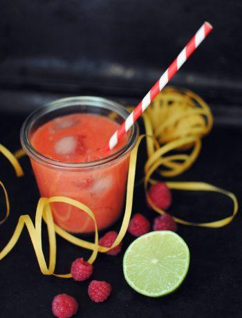 Opskrift: Smoothie med hindbær og banan | Frk. Kræsen