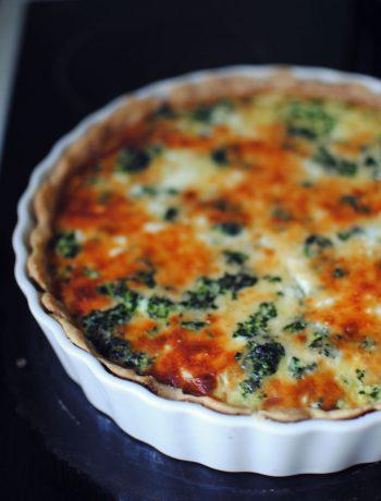 Opskrift: Tærte med spinat | Frk. Kræsen