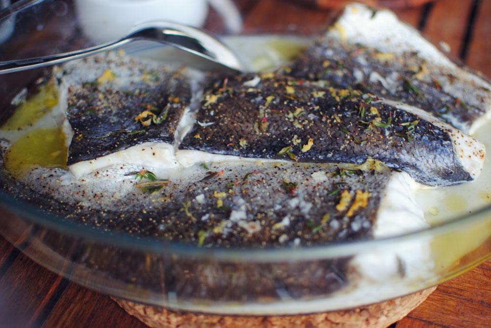 Opskrift: Bagt fisk og bygotto | Frk. Kræsen