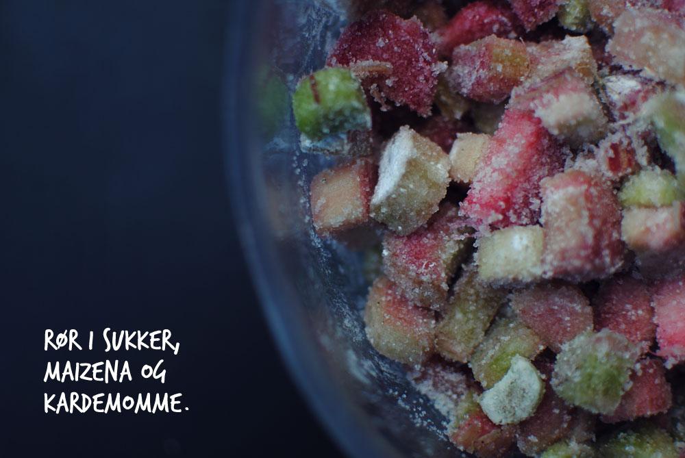 Opskrift: Rabarbertærte | Frk. Kræsen