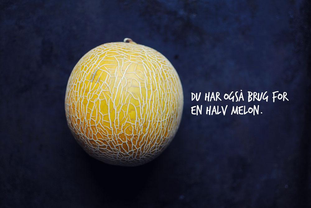 Opskrift: Frugtsalat med melon | Frk. Kræsen