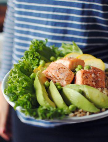 Opskrift: Salat med laks