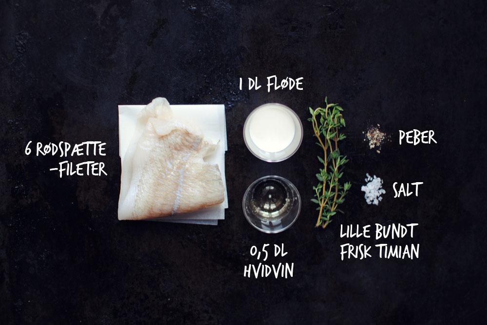 Opskrift: Rødspættefilé i ovnen | Frk. Kræsen