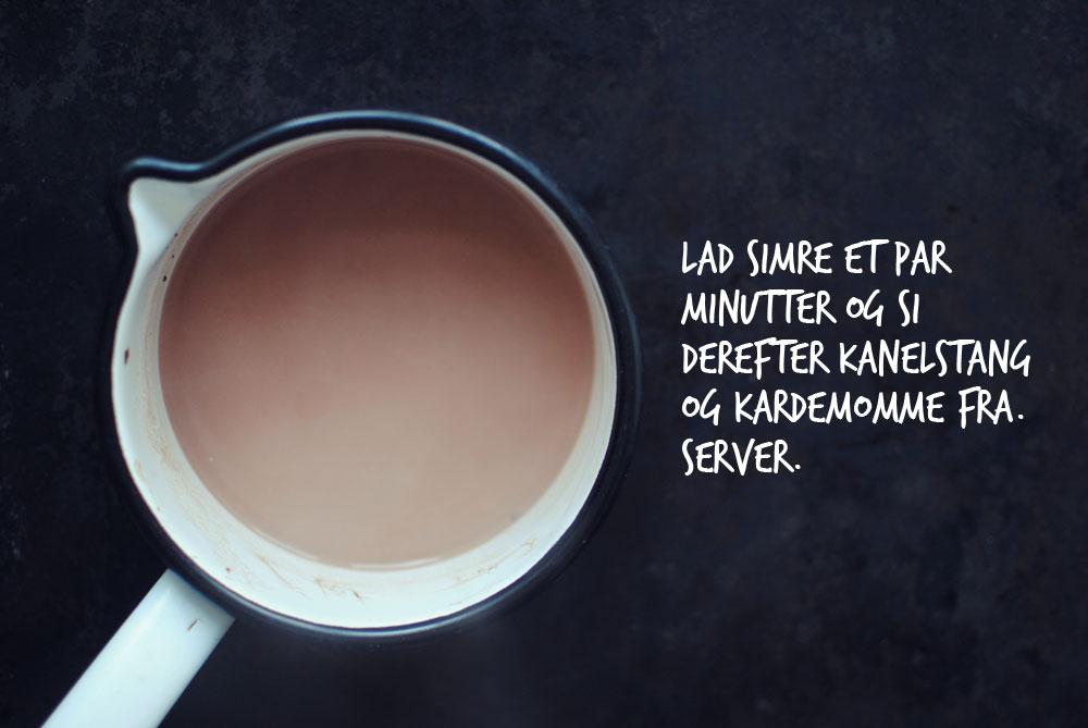 Opskrift: Varm kakao med mandelmælk | Frk. Kræsen