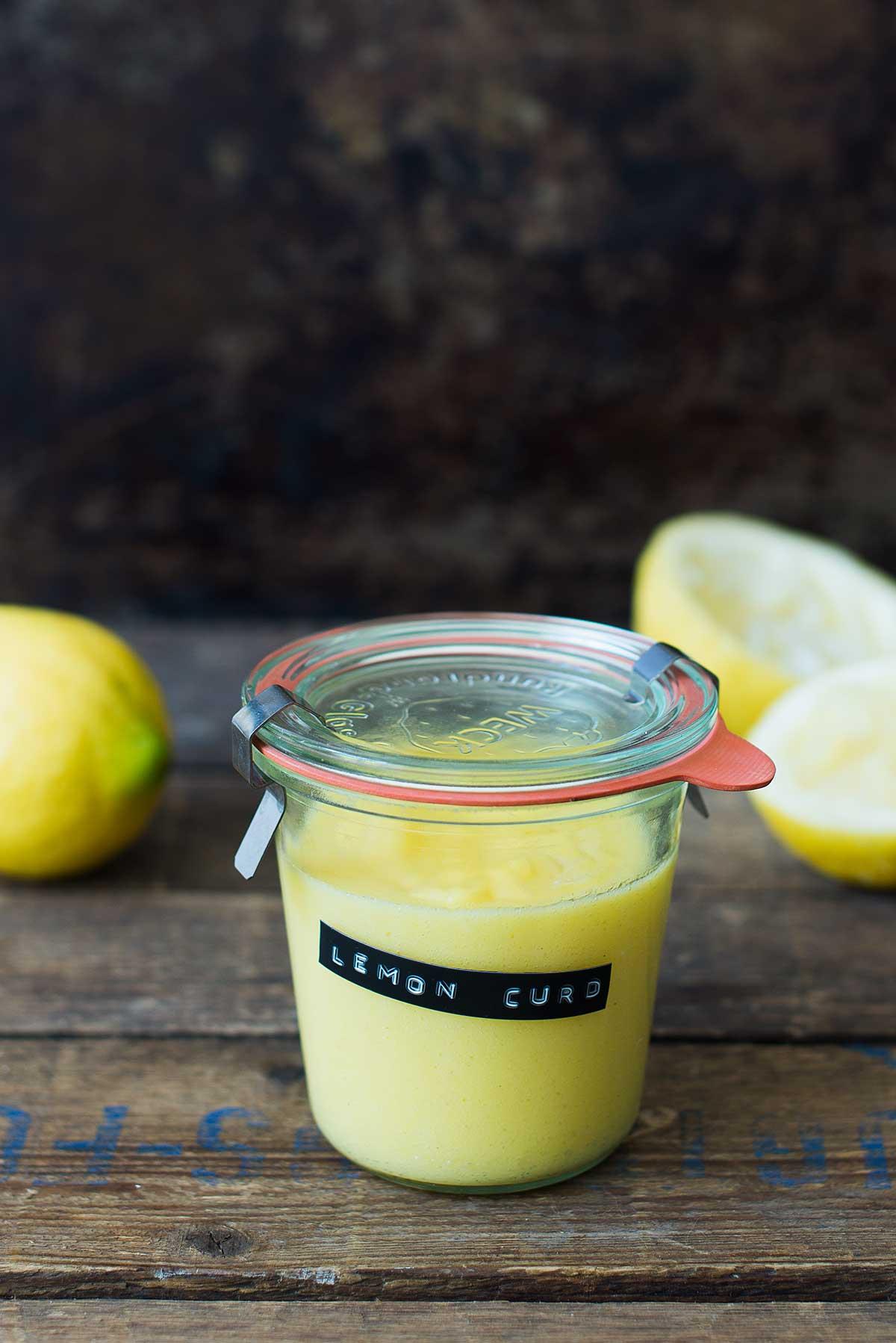 Opskrift: Lemon curd | Frk. Kræsen