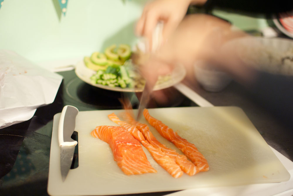 Opskrift: Hjemmelavet sushi | Frk. Kræsen