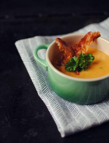Opskrift: Suppe med søde kartofler
