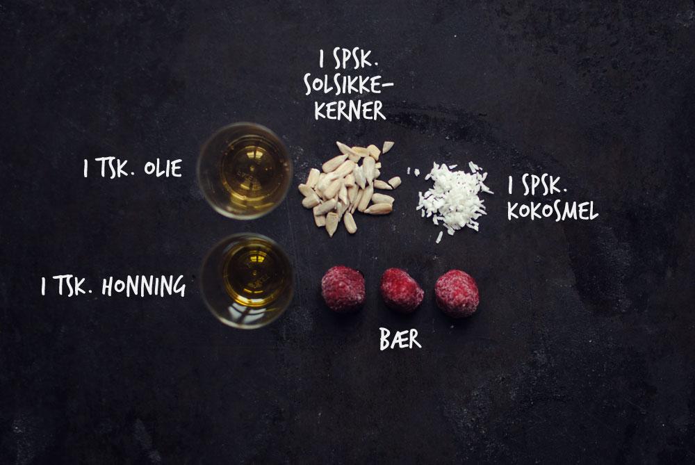 Opskrift: Bagt grød med hindbær | Frk. Kræsen