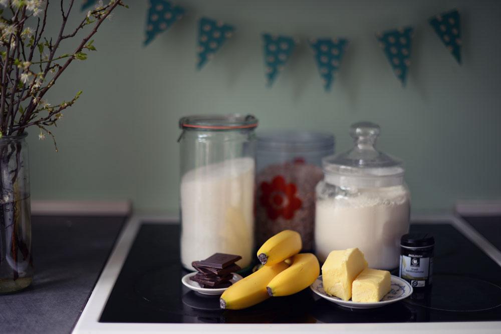 Opskrift: Crumble med banan og chokolade | Frk. Kræsen