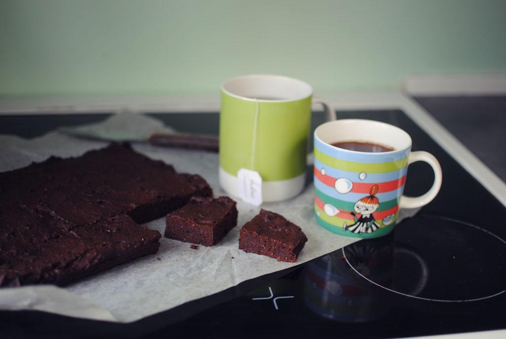 Opskrift: Chokoladekage med bønner | Frk. Kræsen