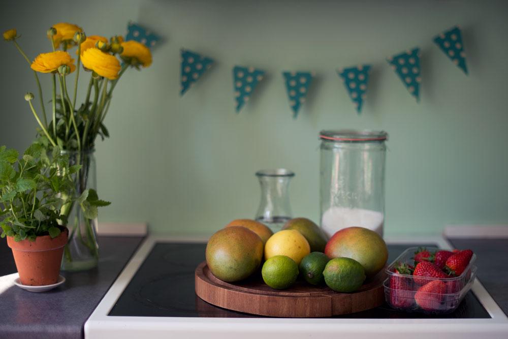 Opskrift: Mangosorbet | Frk. Kræsen
