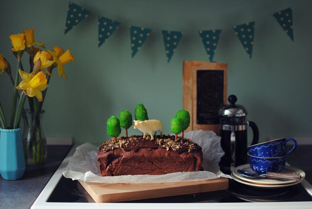 Opskrift: Chokoladekage med ekstra alt | Frk. Kræsen