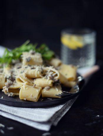 Opskrift: Pasta med svampe | Frk. Kræsen