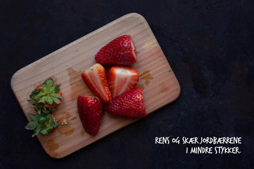 Opskrift: Jordbærsorbet | Frk. Kræsen
