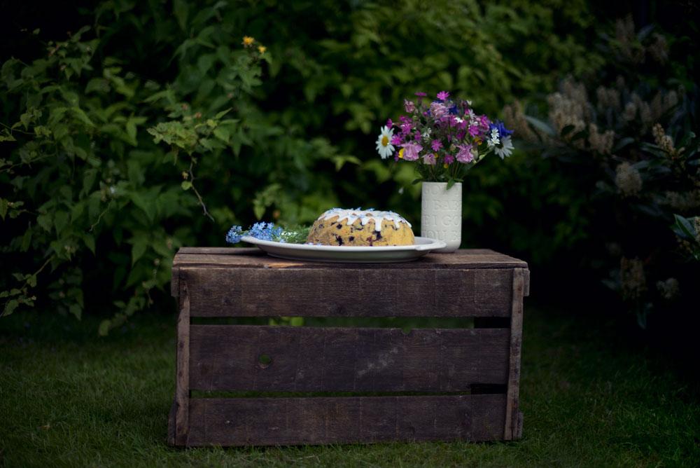 Opskrift: Kage med blåbær | Frk. Kræsen