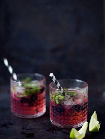 Opskrift: Gin tonic med brombær | Frk. Kræsen