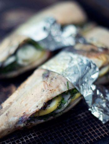 Opskrift: Grillet fisk