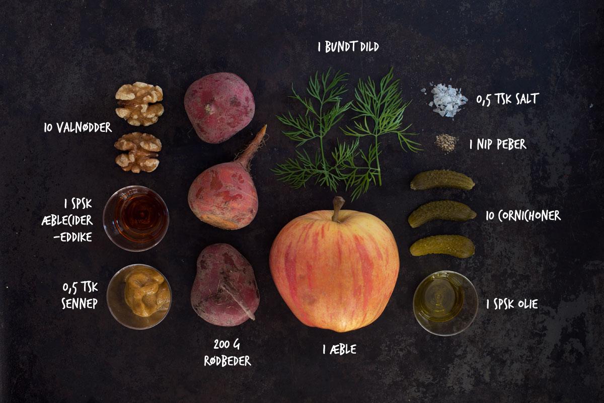 Opskrift: Salat med rødbeder og æble | Frk. Kræsen