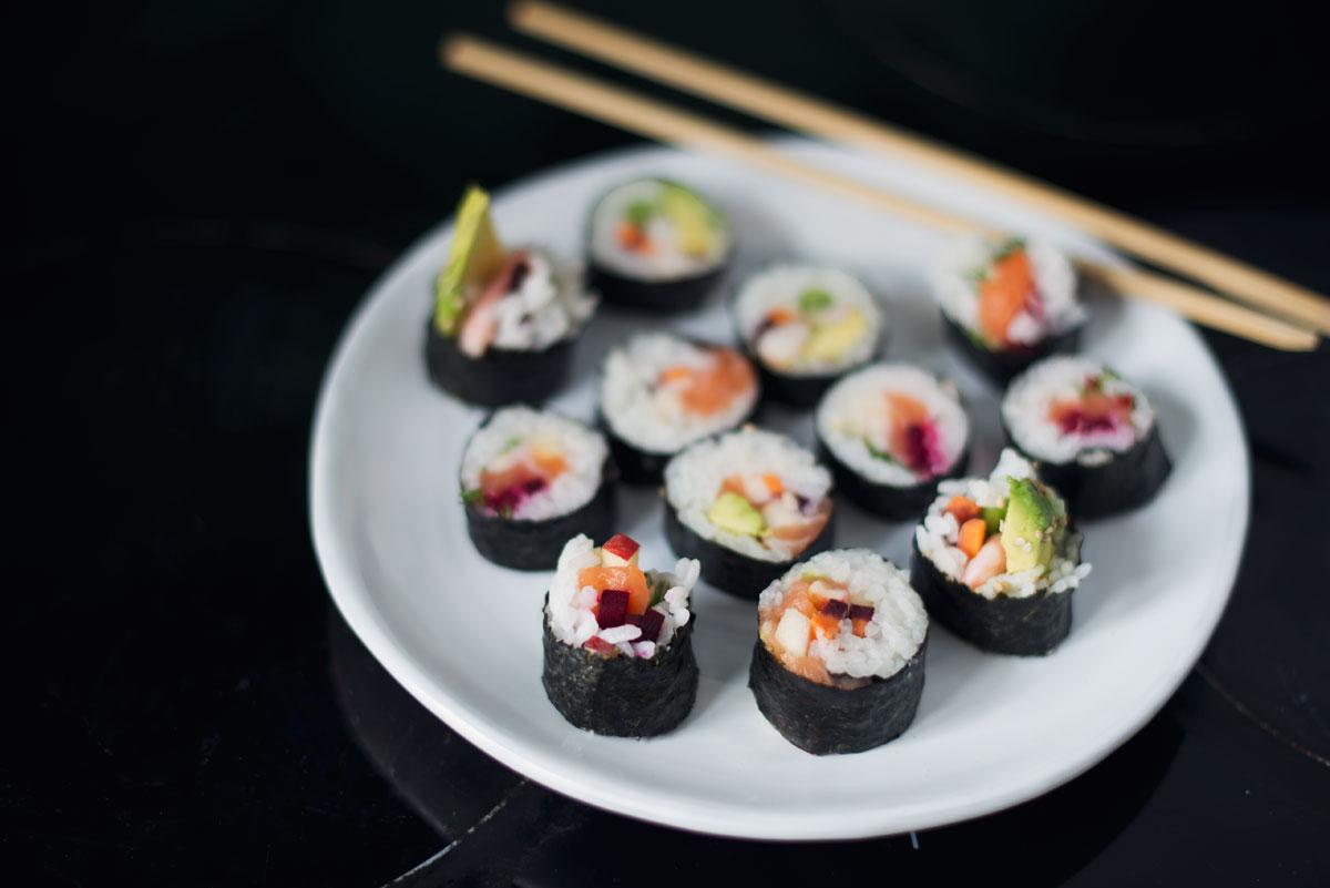 Opskrift: Sushi med nordiske ingredienser | Frk. Kræsen