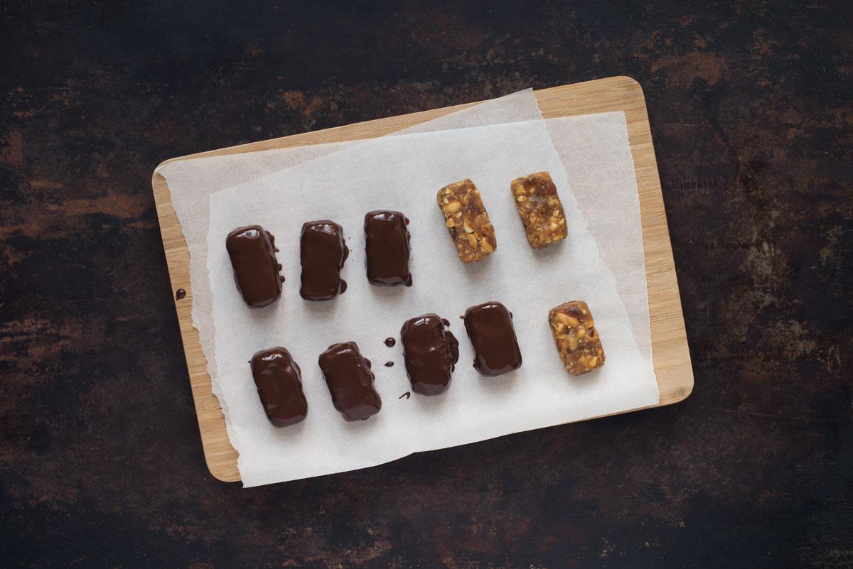 Opskrift: Sunde snickers med appelsin | Frk. Kræsen