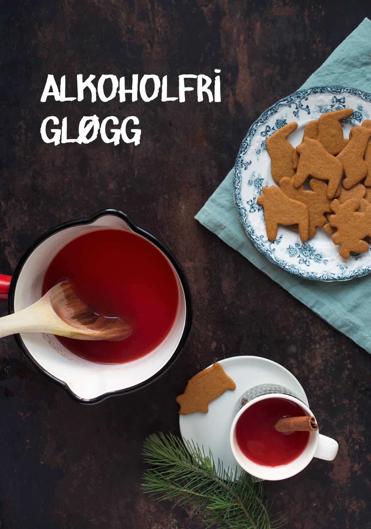 Opskrift: Alkoholfri gløgg med tranebær | Frk. Kræsen
