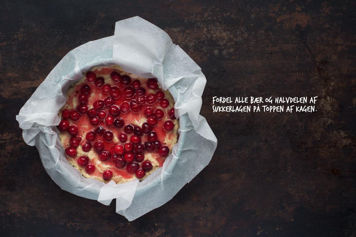 Opskrift: Mandelkage med tranebær | Frk. Kræsen