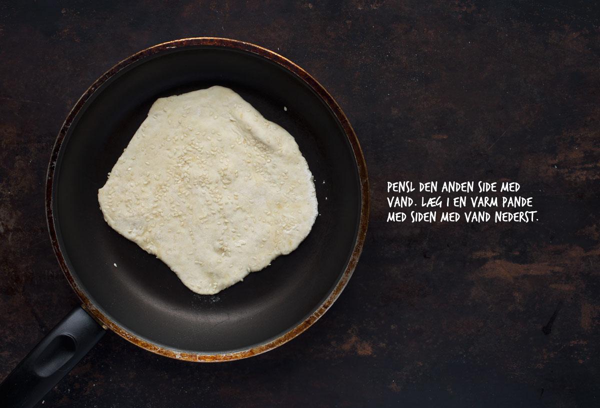 Opskrift: Hurtige naanbrød