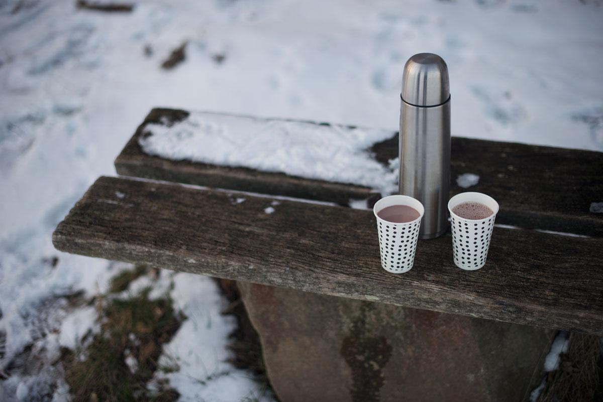Varm kakao med en twist