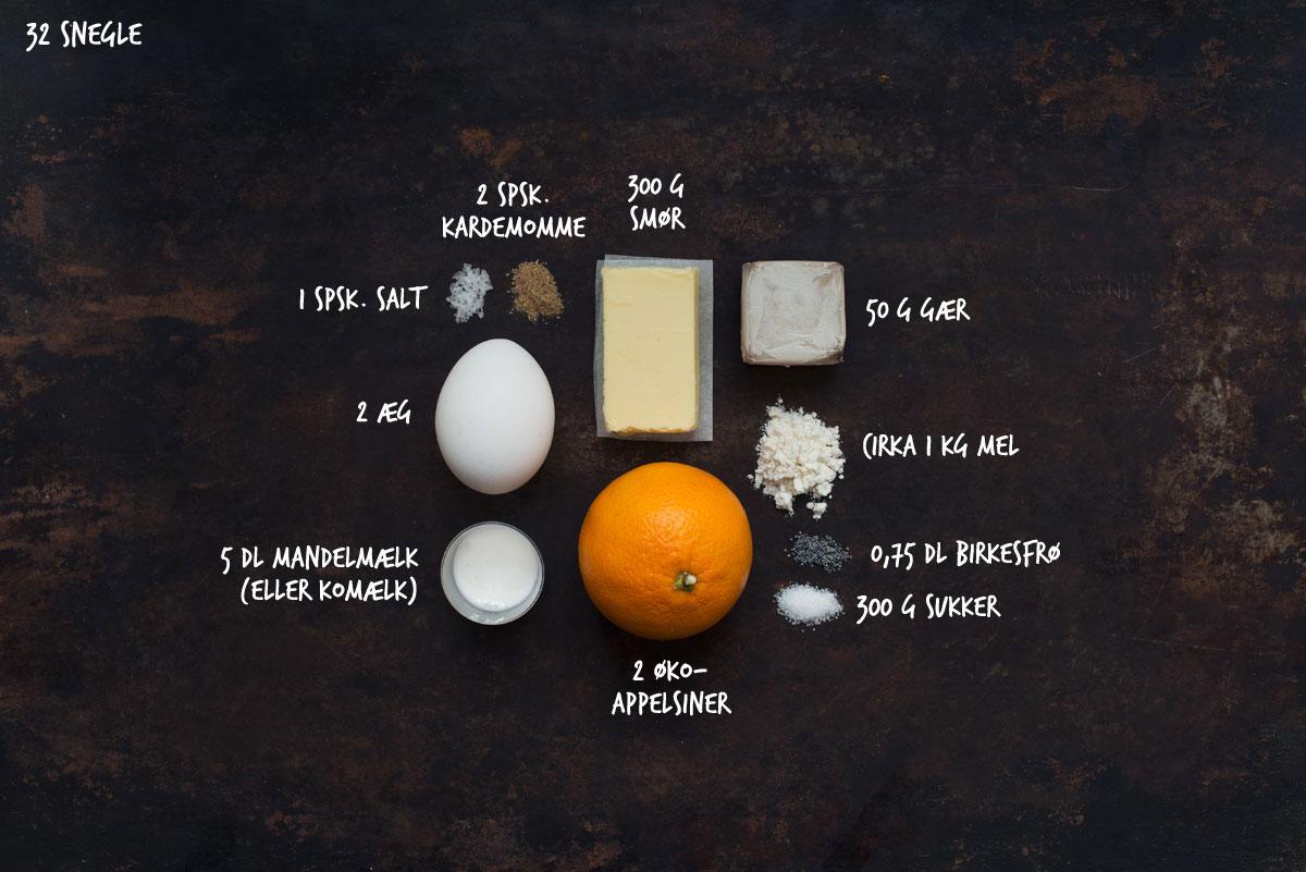 Opskrift: Snegle med birkes og appelsin
