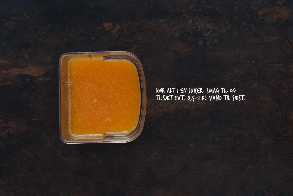 Opskrift: Gul juice