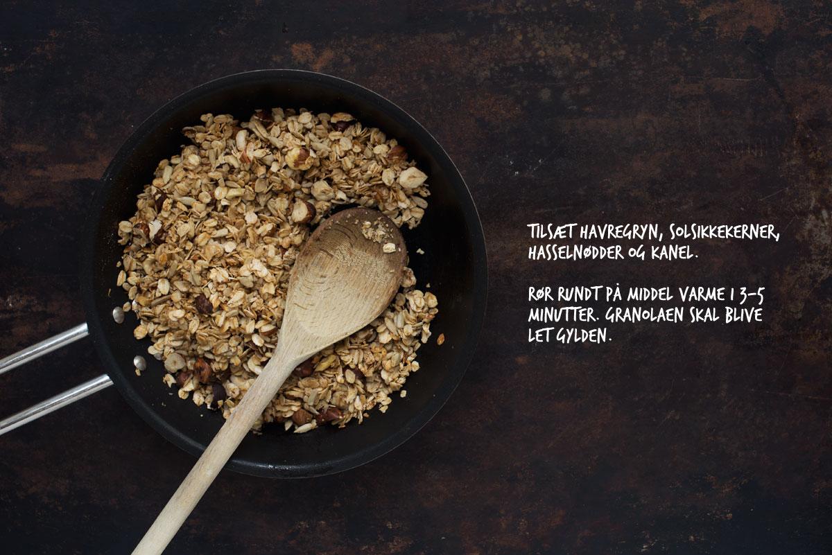 Opskrift: Hurtig granola