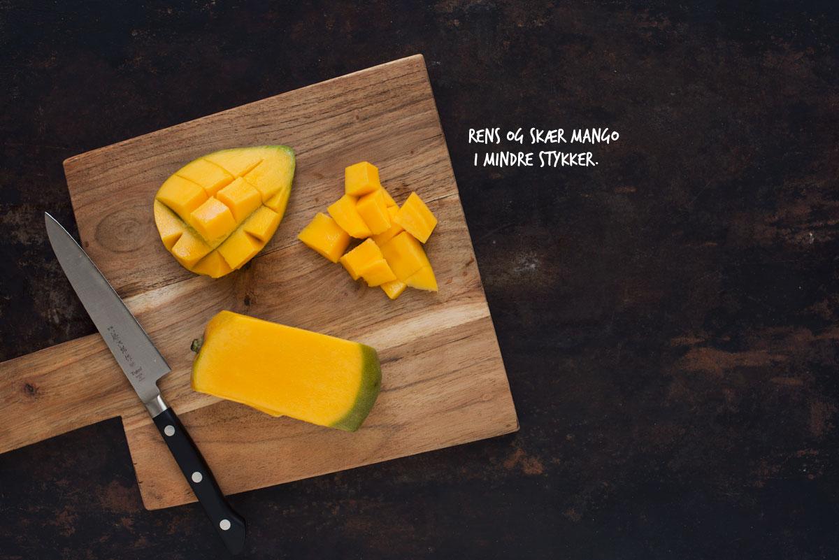 Opskrift: Is med mango og passionsfrugt