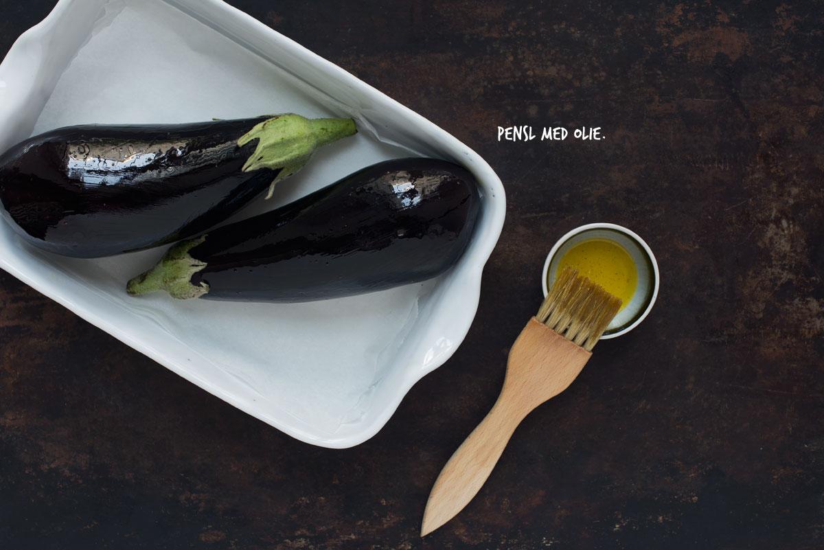 Opskrift: Bagt aubergine