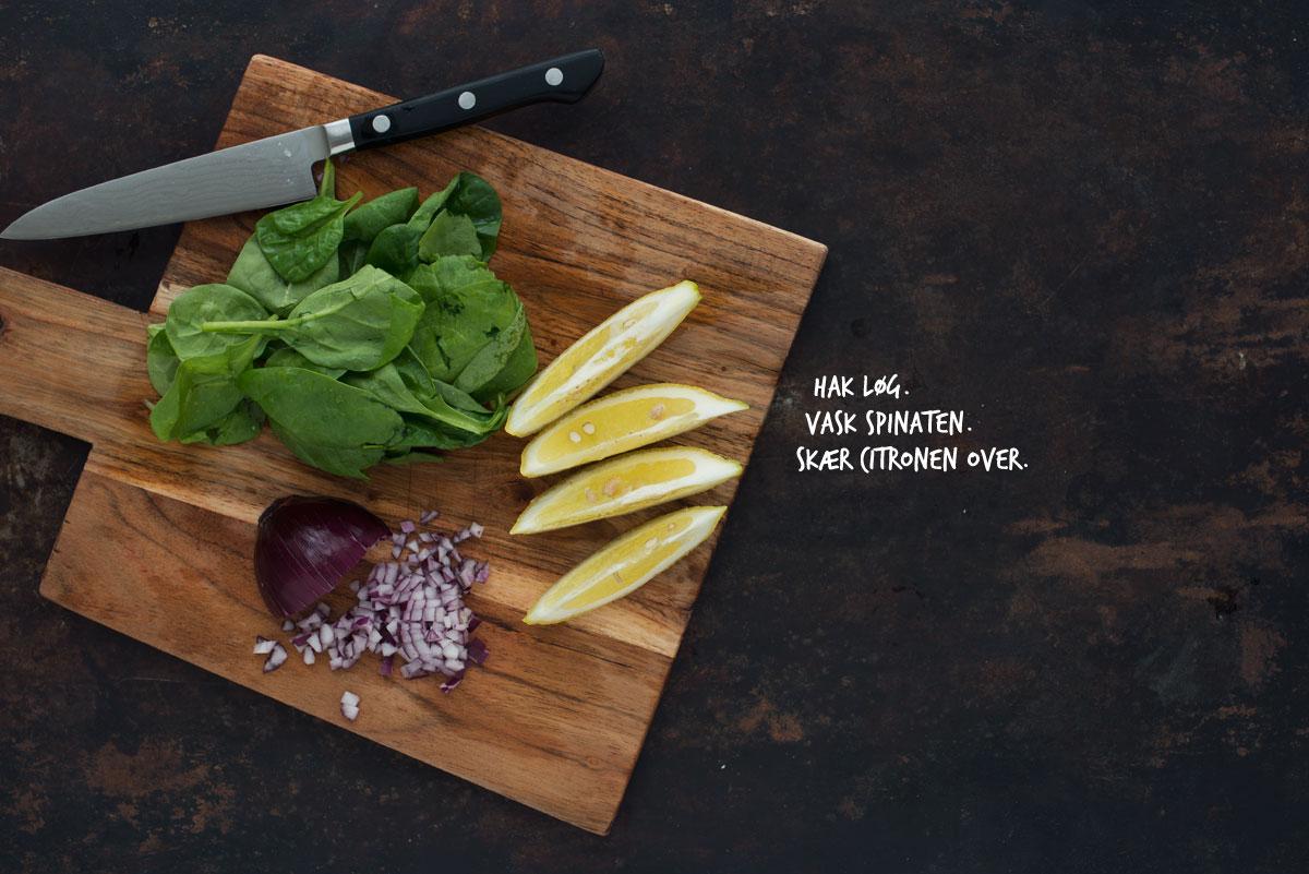 Opskrift: Fuldkornsvafler med grøn topping