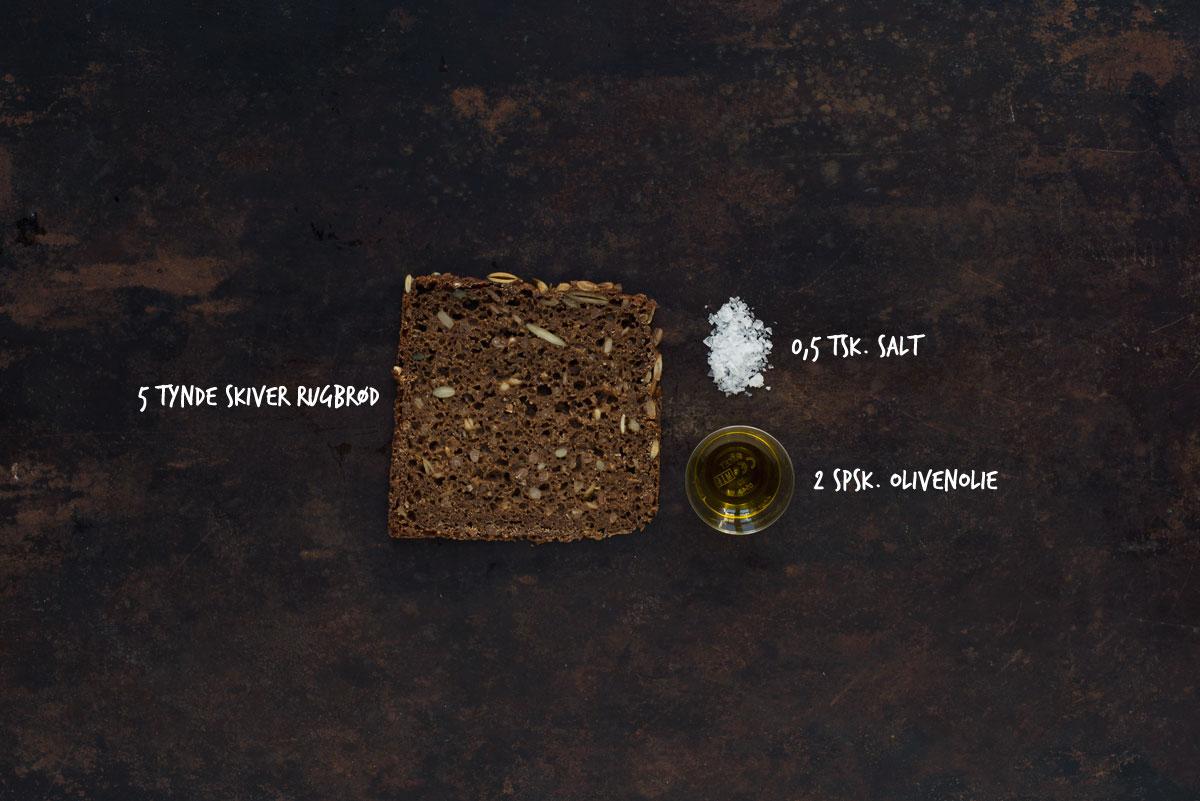 Opskrift: Rugbrødschips