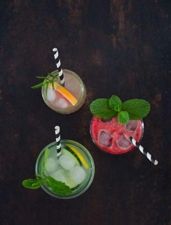 Opskrift: 3x lemonade med en twist | Frk. Kræsen