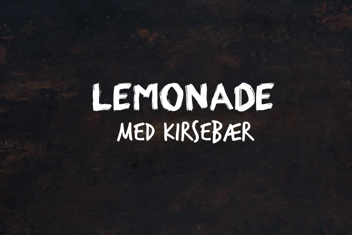 Opskrift: 3x lemonade med en twist   Frk. Kræsen