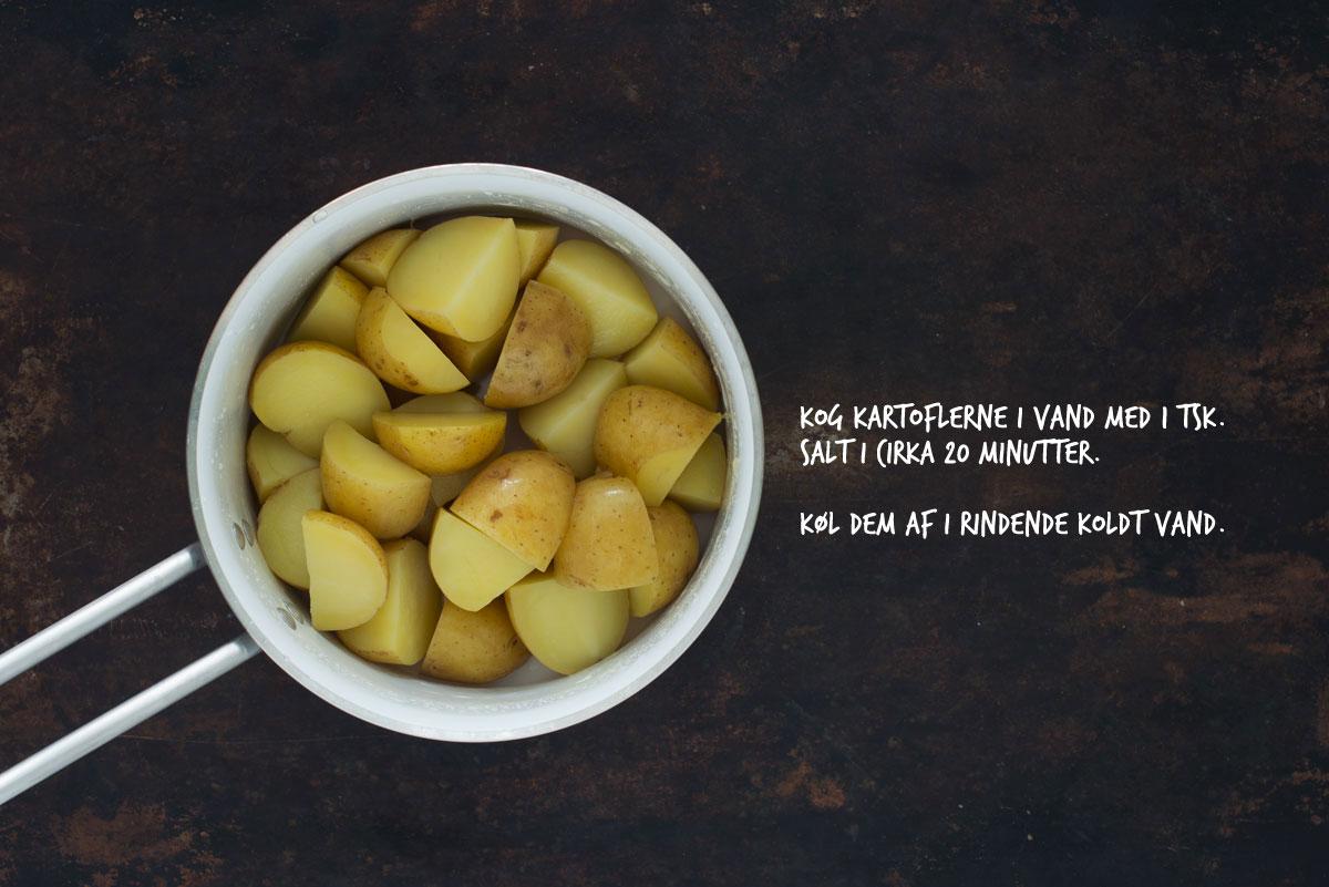 Opskrift: Kartofler med dildpesto | Frk. Kræsen