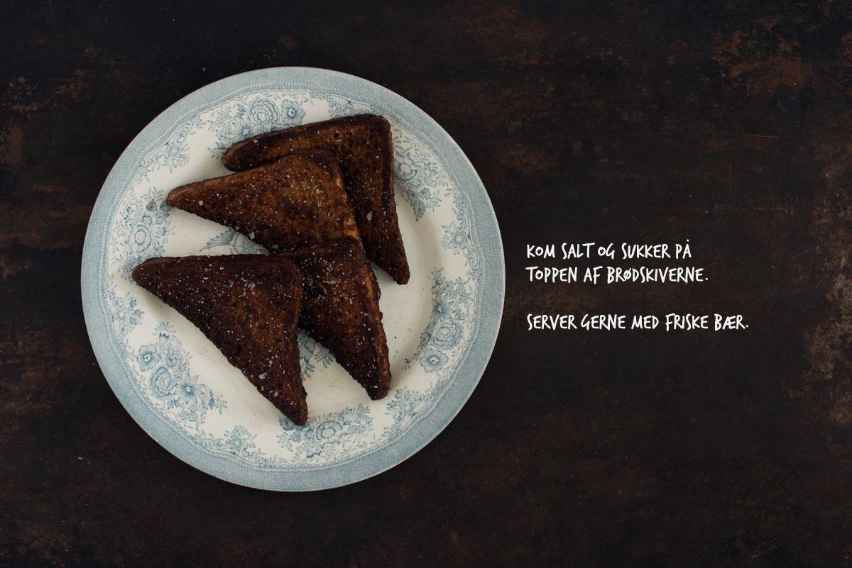 Opskrift: French toast/arme riddere med chokolade | Frk. Kræsen