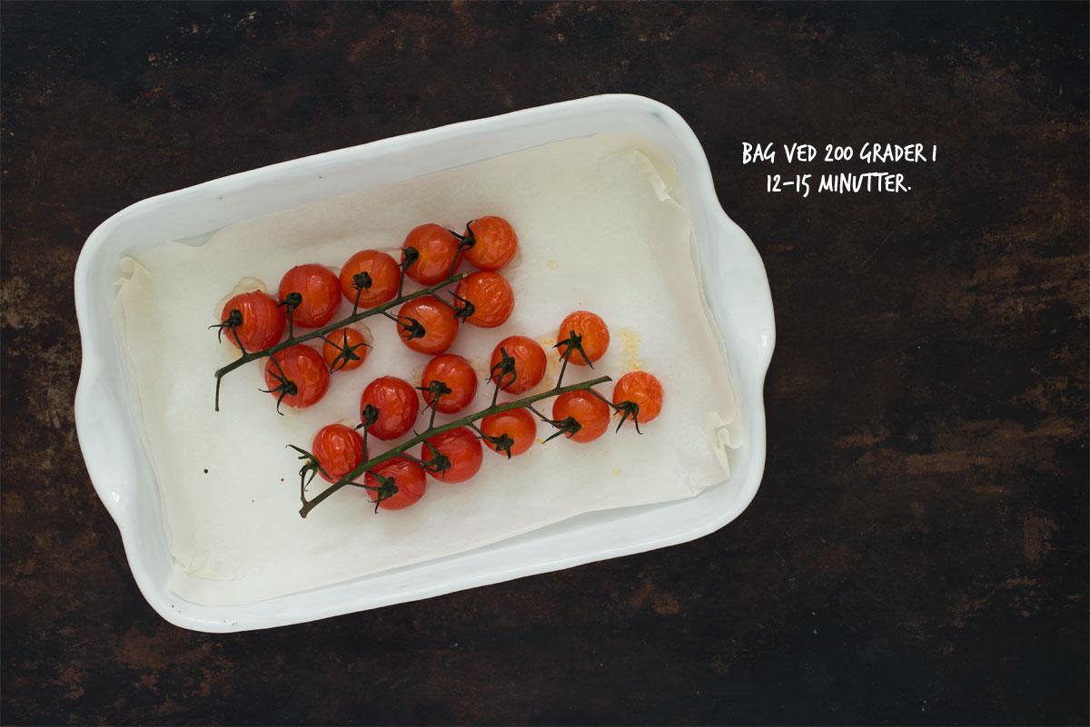 Opskrift: Pasta med bagte tomater og oregano | Frk. Kræsen