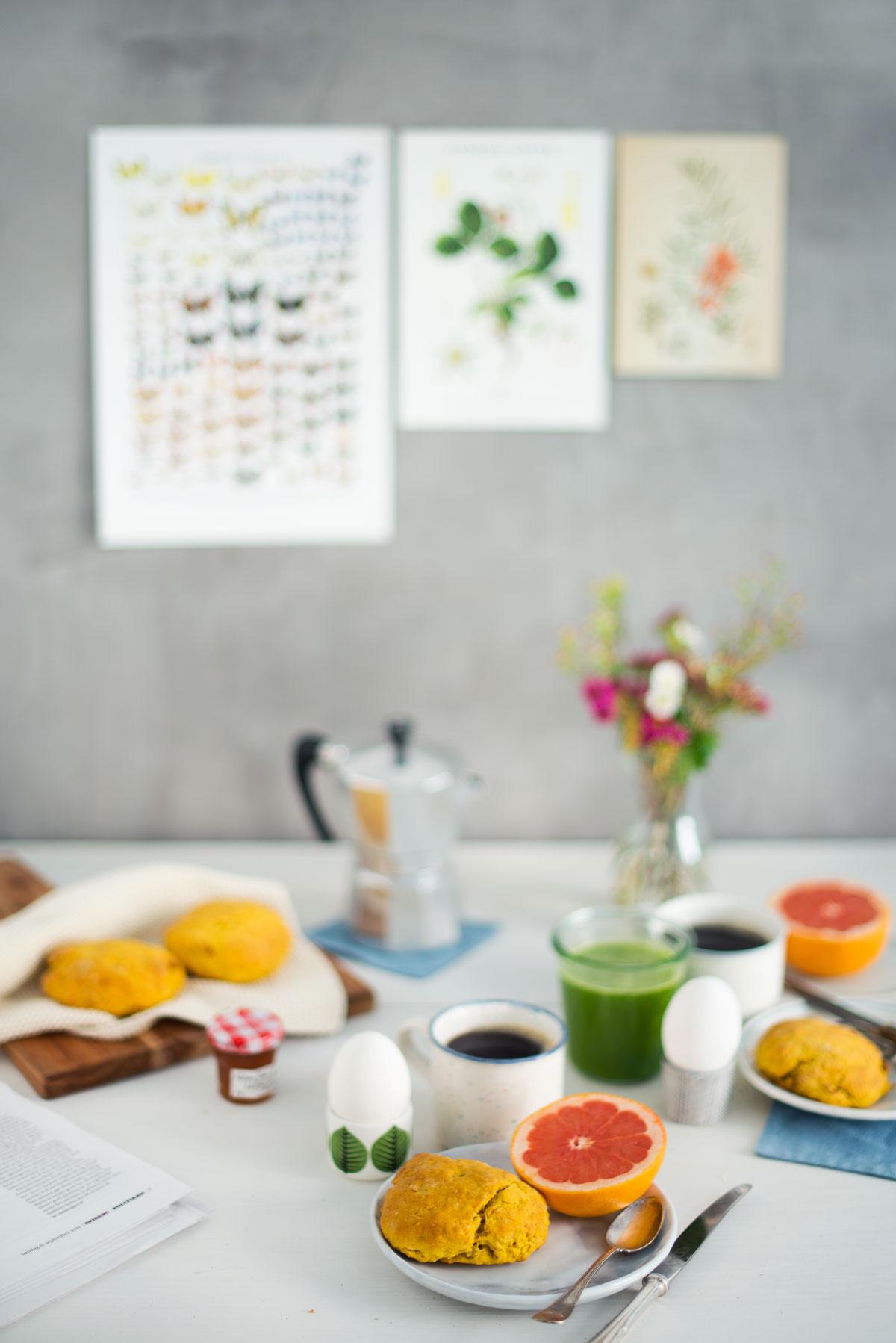 Opskrift: Scones med gulerod og valnødder | Frk. Kræsen