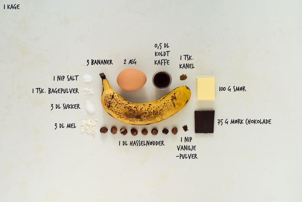 Opskrift: Banankage | Frk. Kræsen