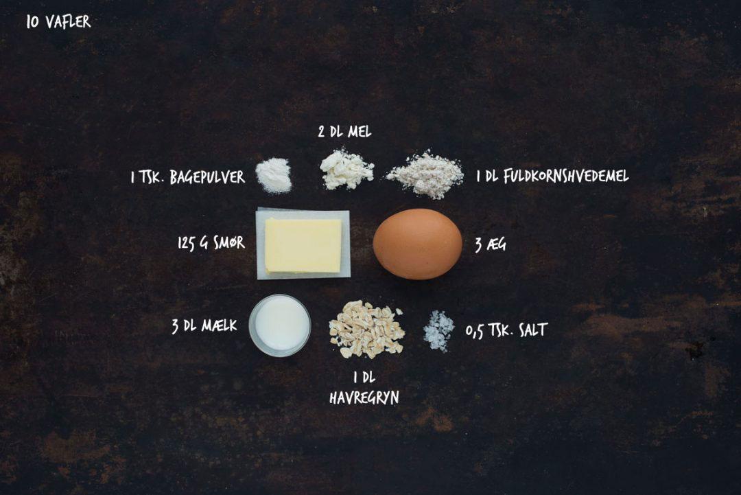 Opskrift: Belgiske vafler | Frk. Kræsen