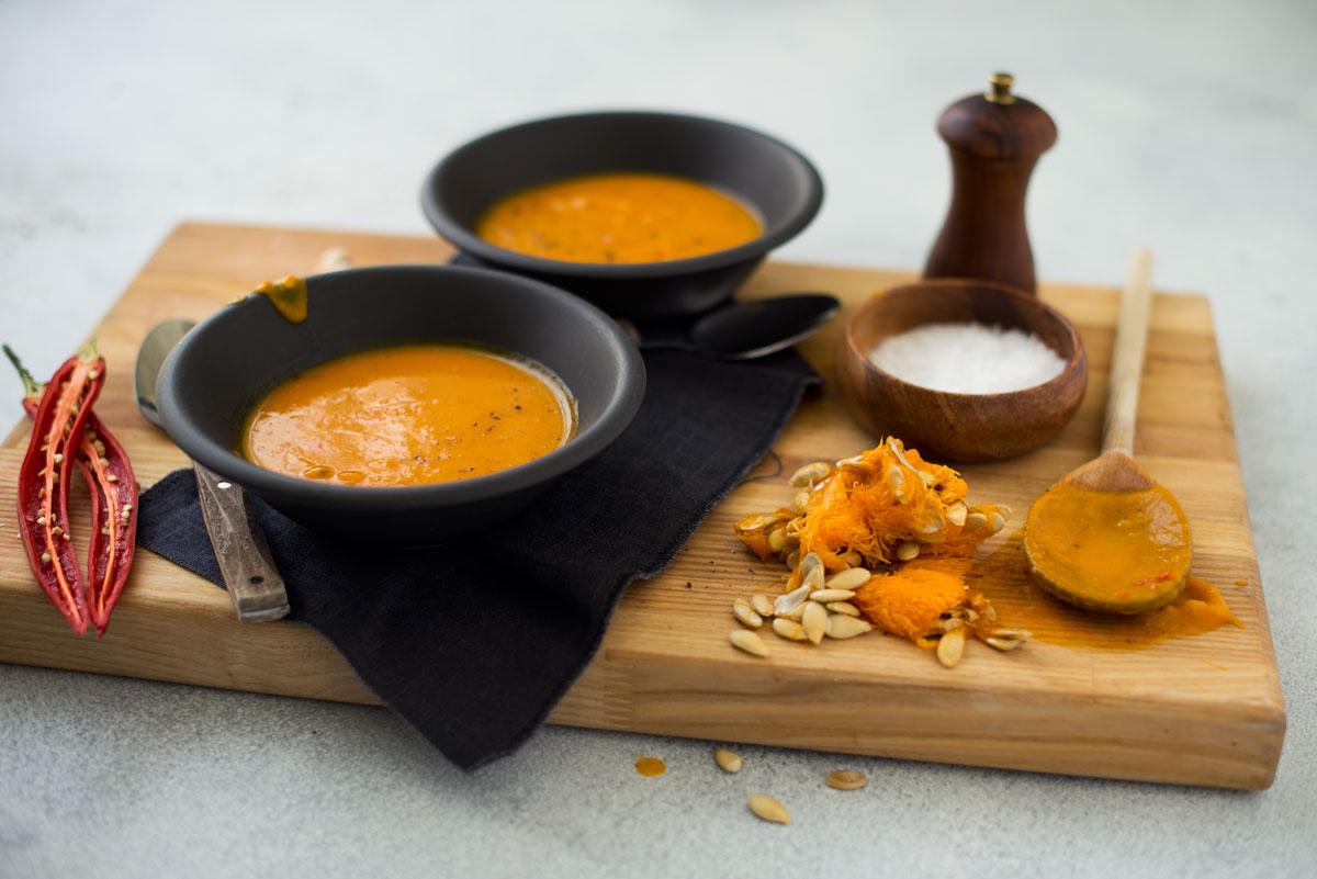 Opskrift: Græskarsuppe | Frk. Kræsen