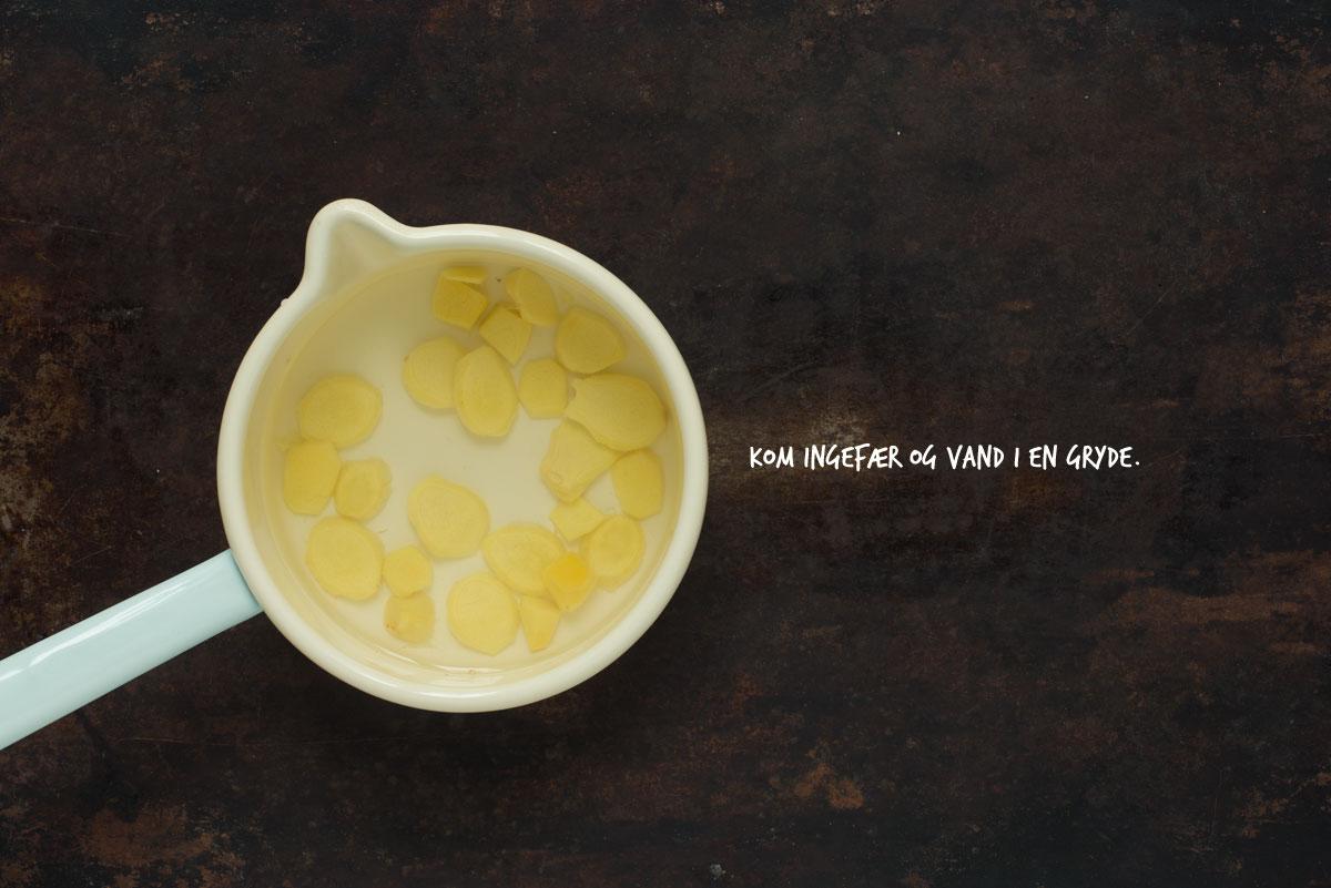 Opskrift: Ingefærshots | Frk. Kræsen