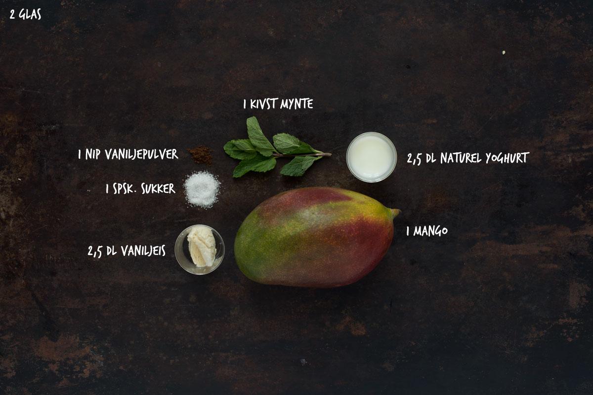Opskrift: Mangolassi | Frk. Kræsen