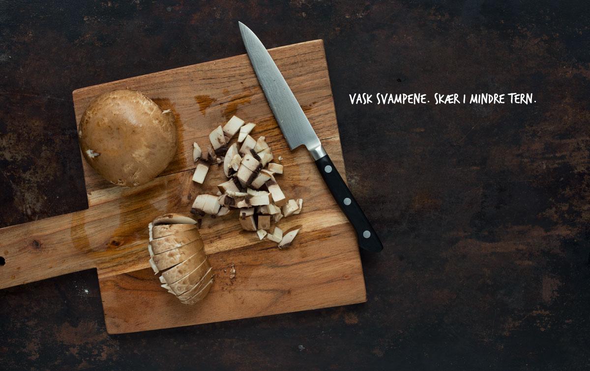 Opskrift: Vegetariske pirogger med portobellosvampe, quinoa og oliven | Frk. Kræsen