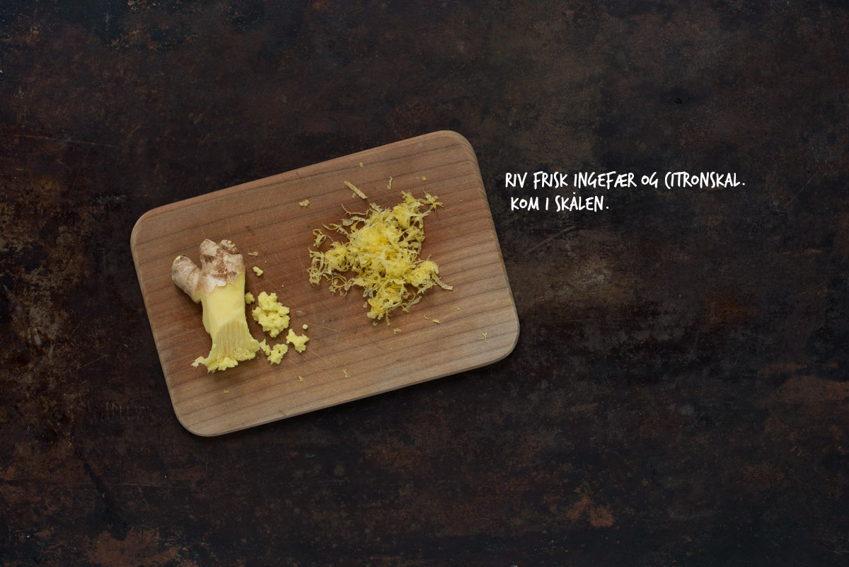 Opskrift: Æbleskiver med ingefær | Frk. Kræsen