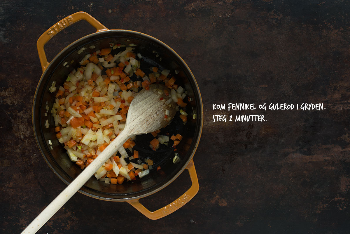 Opskrift: Hvidvinsdampede blåmuslinger med fennikel | Frk. Kræsen